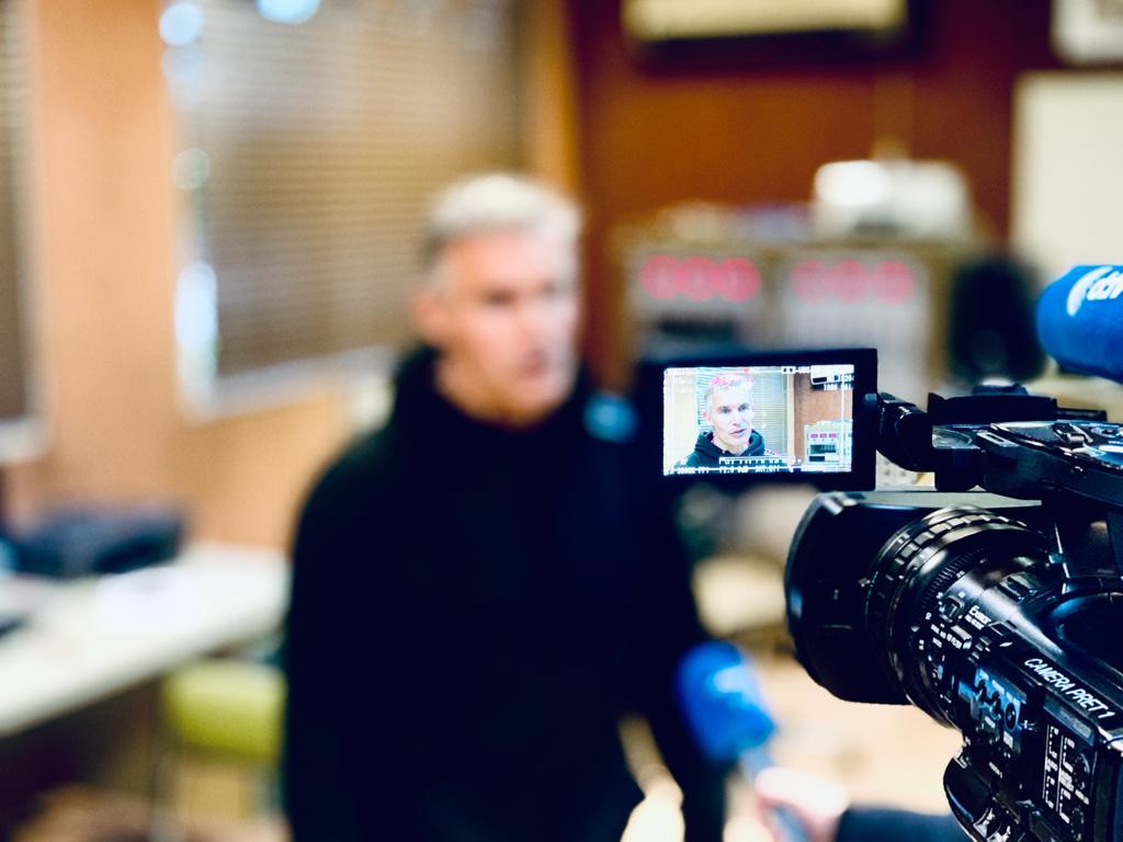 Interview Marc Amerigo par l'AFP - Soufflerie Saint Cyr l'Ecole