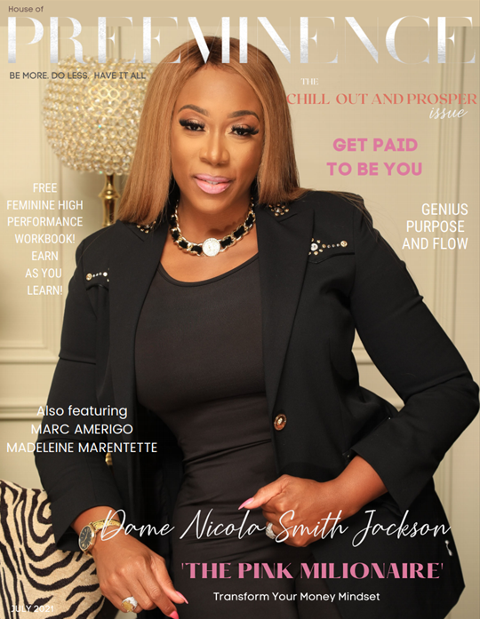 House of Preeminence HOP - July 2021 issue - Cover
